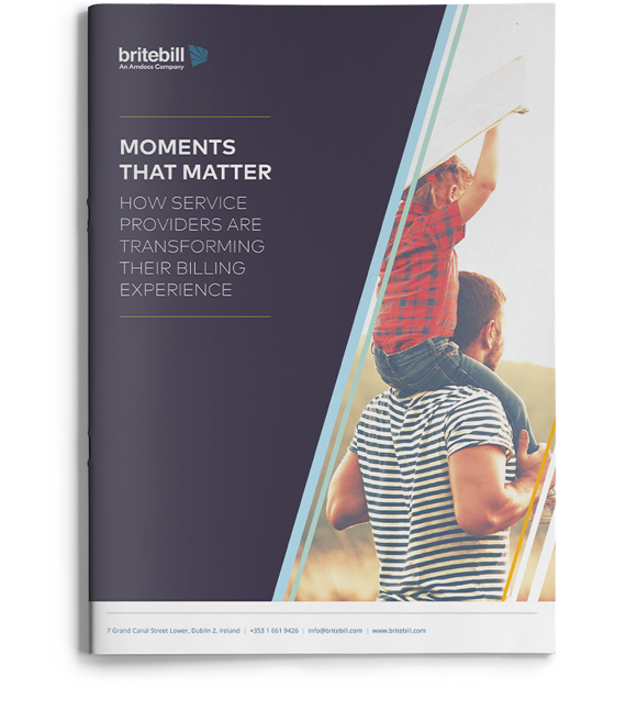 Moments that matter – How service providers are transforming their billing experience